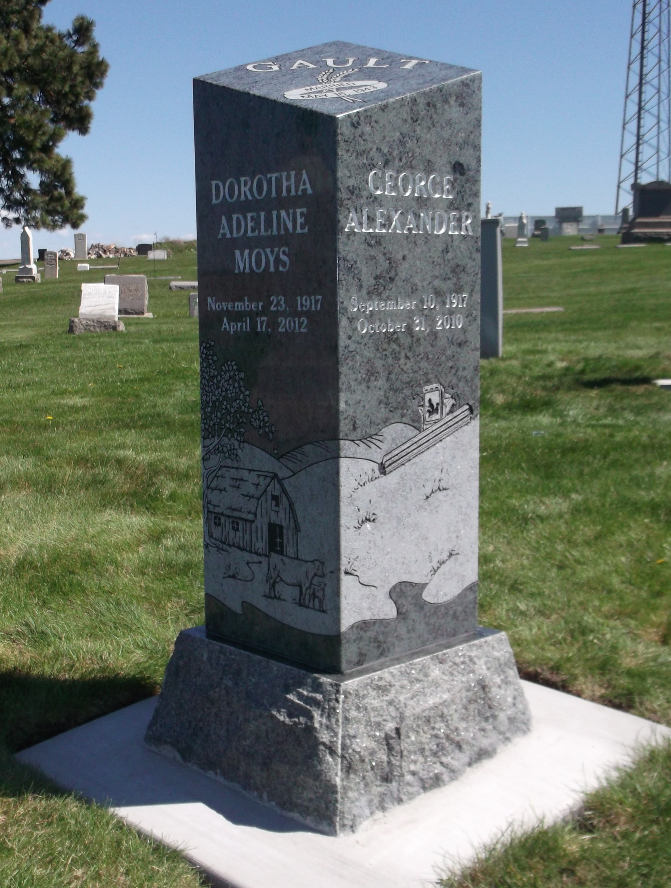 upright monument